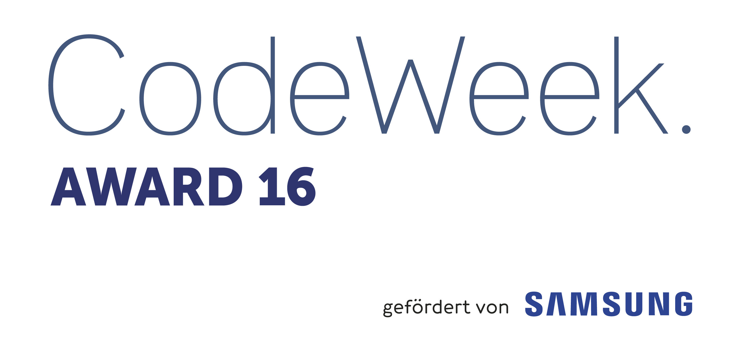 logo codeweekaward